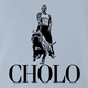Funny mexican cholo - ralph lauren polo t-shirt light blue