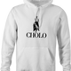 Funny mexican cholo - ralph lauren polo hoodie white