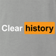 funny Clear Your Browser History - Incognito Mode Pornhub Parody Ash Grey t-shirt