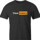 funny Clear Your Browser History - Incognito Mode Pornhub Parody men's black t-shirt
