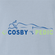 Funny Bill cosby tempur pedic light blue t-shirt
