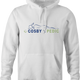 Funny Bill cosby tempur pedic white hoodie