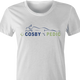 Funny Bill cosby tempur pedic women's white t-shirt