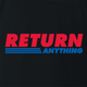 funny Costco - You Can Return Anything Parody t-shirt black