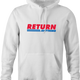 funny Costco - You Can Return Anything Parody  men's hoodie
