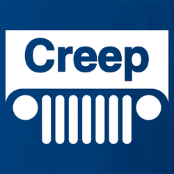 funny Creep Jeep Mashup For Creepy People men's t-shirt