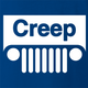 funny Creep Jeep Mashup For Creepy People royal blue t-shirt