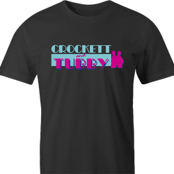 funny Miami Vice Parody Crockett And Tubby Parody men's t-shirt