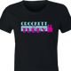 funny Miami Vice Parody Crockett And Tubby Parody women's black