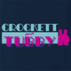 funny Miami Vice Parody Crockett And Tubby Parody Navy t-shirt