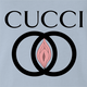 Cucci Explicit Gucci  light blue t-shirt