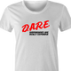 funny marijuana dispensaries are expensive DARE parody white women's t-shirt