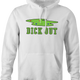 Funny Dick-Out Golf white hoodie