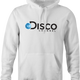 Funny Disco Music Channel Discovery Network Mashup white hoodie