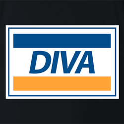 diva visa parody men's t-shirt as seen on Rent Live
