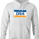 diva visa parody hoodie as seen on Rent Live