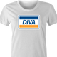 diva visa parody womne's t-shirt as seen on Rent Live