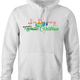 funny Diverse Happy Holidays Hannukah Kwanzaa Diwali Christmas Holiday Parody white hoodie