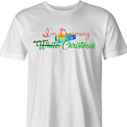 funny Diverse Happy Holidays Hannukah Kwanzaa Diwali Christmas Holiday Parody men's t-shirt white