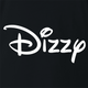 funny dizzy lightheaded disney mashup black t-shirt
