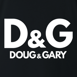 Funny Doug and Gary men's t-shirt