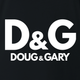 Funny Doug and Gary black grey t-shirt
