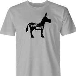funny Drug Mule Parody men's t-shirt