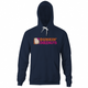 funny deez nuts dunkin donuts navy hoodie