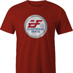 Funny Ea electronic arts Fart parody men's t-shirt