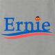funny Ernie From Sesame Street For President ash grey t-shirt