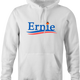 funny Ernie From Sesame Street For President white hoodie