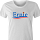 funny Ernie From Sesame Street For President white women's t-shirt