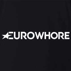 EuroWhore Eurosport TV channel sports FIFA t-shirt white
