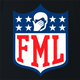 funny FML f my life NFL fanatasy football t-shirt black