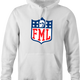 funny FML f my life NFL fanatasy football t-shirt white men's hoodie