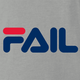 fila Fail you suck total fail internet viral parody t-shirt white