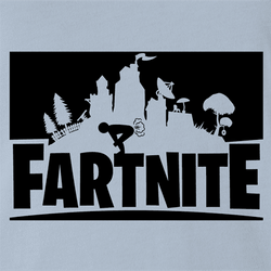 funny fartnite fortnite parody t-shirt white men's