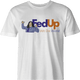 Funny The Room Fed Up With This World men's t-shirt