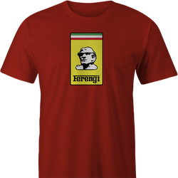Funny Ferengi Star Trek Ferrari Parody men's T-shirt
