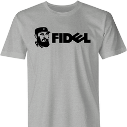 fidel castro dell computers ash men's t-shirt