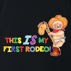 Funny not my first rodeo white men's t-shirt