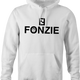 Funny The Fonz From Happy Days parody hoodie white