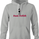 funny Foot Fetish Feet Lover t-shirt Ash Grey hoodie