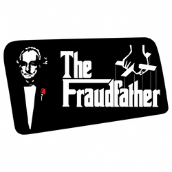 godfather fraudfather bernie madoff men's red t-shirt