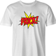 funny Frick - Pow! Comic Book What the Frick Meme Parody white men's t-shirt