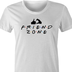 funny Friends Zone t-shirt white