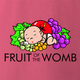 Funny pregnancy expecting mother t-shirt - Fruit of the Womb pink