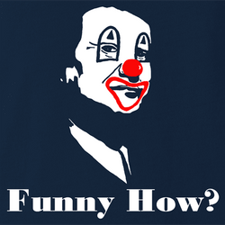 Funny how joe pesci goodfellas - like a clown men's t-shirt