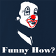 Funny how joe pesci goodfellas - like a clown navy blue  t-shirt