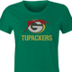 Funny Green Bay Packers 2pac mash up women's t-shirt